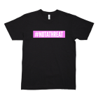 #NOTATHREAT SUPREME (PINK BLOCK) T-Shirt