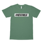 #NOTATHREAT SUPREME (WHITE BLOCK) T-Shirt